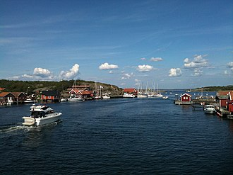Strömstad - Koster Islands are surrounded by Kosterhavet National Park.