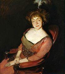 Portrait of Janina Dziekońska née Korsak.