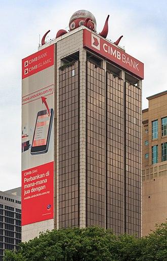 CIMB - Former group headquarters in Kuala Lumpur