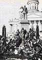 Kukitettu Aleksanteri toisen patsas 1899.jpg
