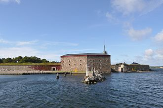 Karlskrona naval base - Donjon of Kungsholms Fort