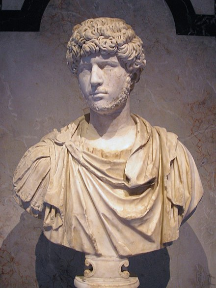 Ancient Roman bust of Lucius Verus as a young man, in the Collection of Greek and Roman Antiquities in the Kunsthistorisches Museum, Vienna Kunsthistorisches Museum Vienna June 2006 050.jpg
