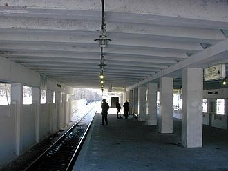 Kuntsevskaya (Moscow Metro) - Older 1965 platform