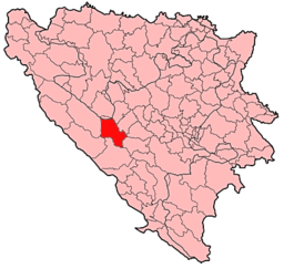 Kupres Municipality Location.png