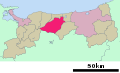 Kurayoshi in Tottori Prefecture Ja.svg