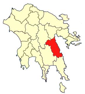 Cynuria Historical region in Greece