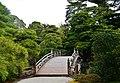 Kyoto Kaiserpalast Oikeniwa-Garten Keyakibashi-Brücke 3.jpg