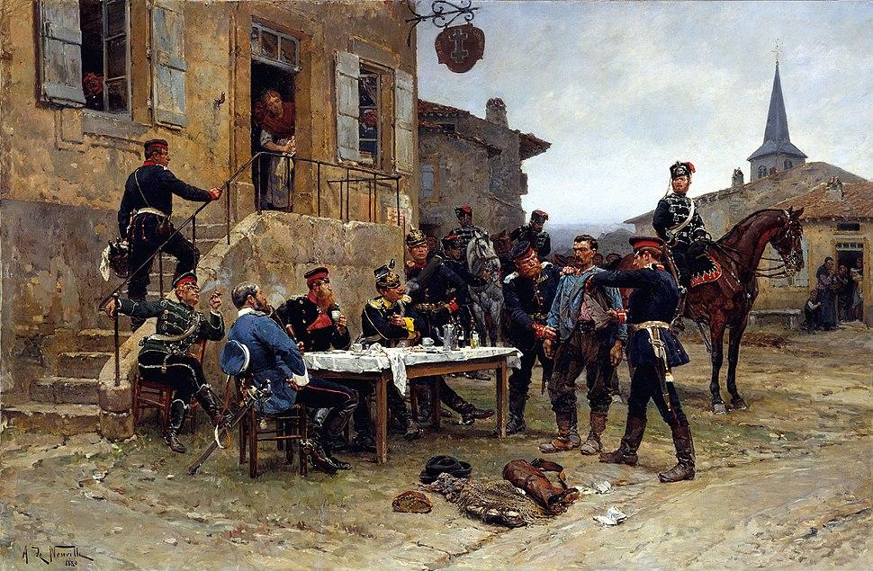 L%27espion - Alphonse de Neuville - 1880