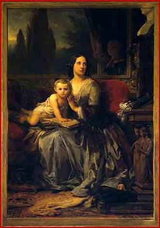Duke of Galliera - Image: Léon Cogniet Portrait de Maria Brignole Sale De Ferrari