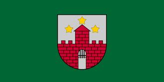 Aizpute - Image: LVA Aizpute flag