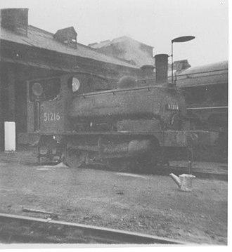 L&YR Class 21 - Image: LYR 0 4 0ST Pug 51216