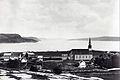 La Baie des Ha Ha vue du village de Saint-Alphonse de Bagotville vers 1880.jpg