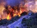 La Barranca Fire near Sedona (3910798256).jpg