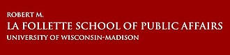 Robert M. La Follette School of Public Affairs - Image: La Follette School Title