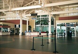La Romana International Airport - Image: La Romana Aeropuerto RD