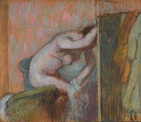 La Toilette apres le bain (El arreglo después del baño)