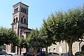 La Voulte-sur-Rhône - grand place and church.JPG