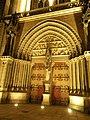 La porte d'entree de la cathedrale st pierre a vannes - panoramio.jpg
