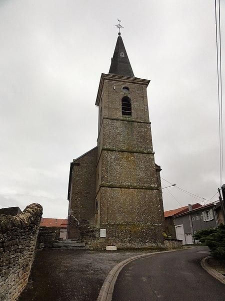 Laix (Meurthe-et-M.) église