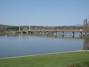 History of Lake Burley Griffin - Commonwealth Avenue Bridge