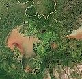 Lake Claire (Alberta) by Sentinel-2.jpg