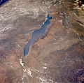 Lake Nyasa from Orbit , Dec 1993.jpg