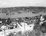 Lake Union from Queen Anne Hill, Seattle, 1936.jpg