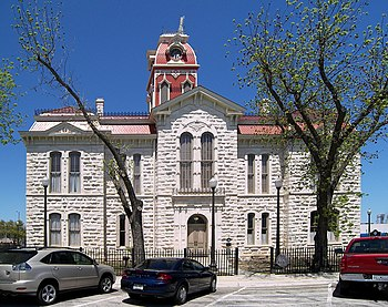 English: The Courthouse was completed in 1884....