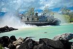 Landing craft air cushion departs from Marine Corps Base Hawaii to USS New Orleans 130830-N-YR391-041.jpg