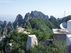Hebei - Langyashan (Wolf Tooth Mountain), in Yi County, Hebei.