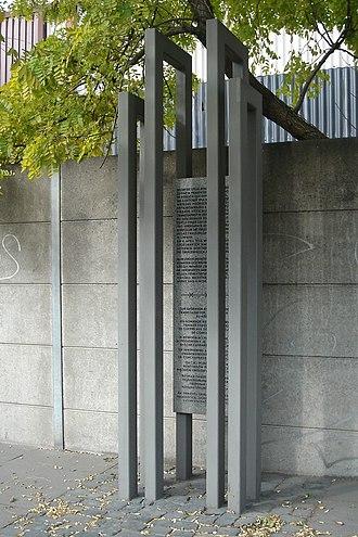 Langenhagen - Image: Langenhagen Konzentrationslager Memorial