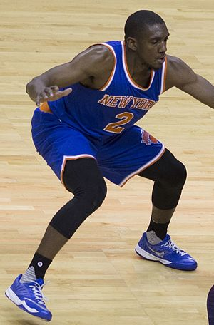 Langston Galloway - Galloway with the Knicks in October 2015
