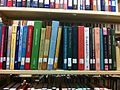 Language and Rhetorics Books on Library Shelf.JPG