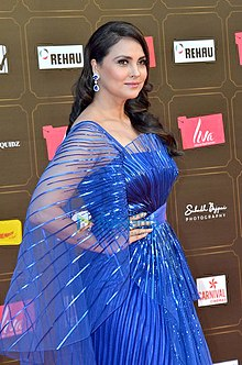 Lara Dutta at the grand finale of Miss Diva 2020 contest.jpg