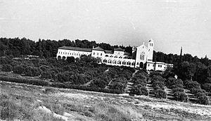 Latrun - Latrun Monastery 1948