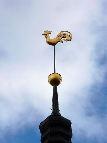 File:Latvia Riga Cathedral weather cock.jpg