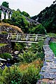 Laxey - The Mines Trail - River Mooar footbridge - geograph.org.uk - 1707212.jpg