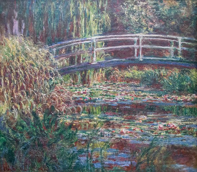 File:Le Bassin aux nymphéas, harmonie rose - Claude Monet.jpg