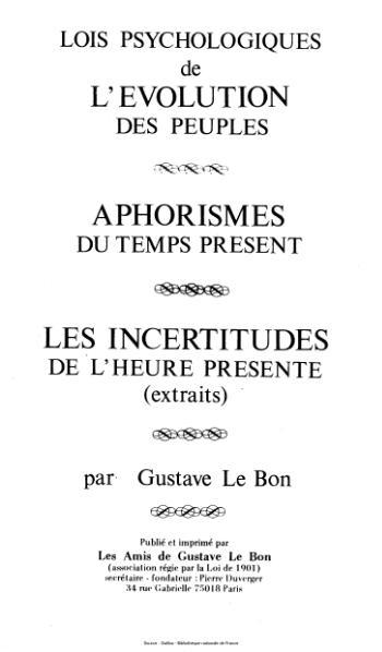 File:Le Bon - Lois psychologiques de l'évolution des peuples.djvu