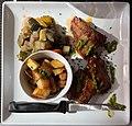 Le Canard pressé (restaurant) - Pluma de porc iberica mariné au piment de la Vera (2).jpg