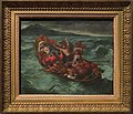 Le Christ sur le lac de Génésareth - Delacroix - MET - c. 1853 - with border.jpg