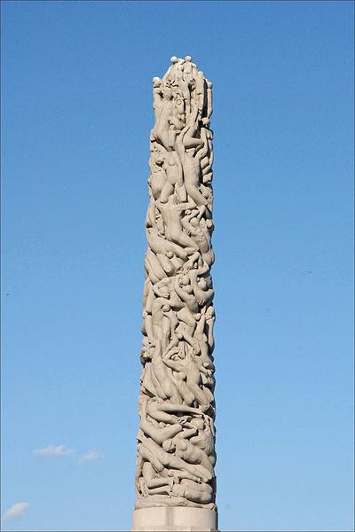 File:Le monolithe de Gustav Vigeland (4845797465).jpg