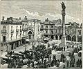 Lecce piazza Sant'Oronzo xilografia di Richard Brend'amour.jpg