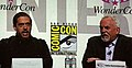 Lee Unkrich & John Ratzenberger at WonderCon 2010 1.JPG