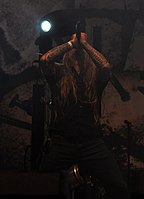 Legion of the Damned, Maurice Swinkels at Party.San Metal Open Air 2013.jpg