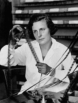 Leni Riefenstahl in 1935