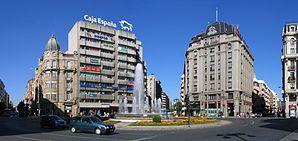 Plaza Santo Domingo in der Innenstadt von León