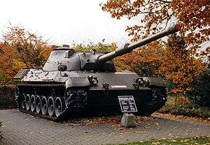 German Tank Museum - Image: Leopard Vorserie Prototyp II