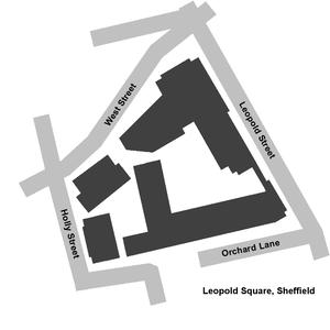 Leopold Square - plan of Leopold Square.