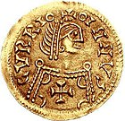 Tremissis depicting Liuvigild (568-586) of Visigothic Kingdom